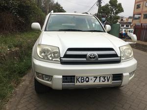 Toyota Hilux Surf 2004 White | Cars for sale in Nairobi, Kilimani