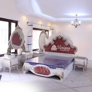 ROYAL WHITE.An Antique Hardwood Bed Set With 2 Bed Sides And | Furniture for sale in Nairobi, Mombasa Road