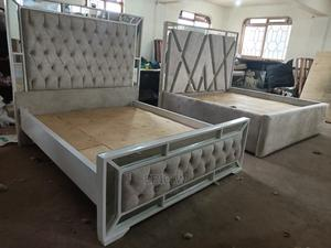 5 by 6 Chester Glass Finishing Luxurious Beds   Furniture for sale in Nairobi, Nairobi Central