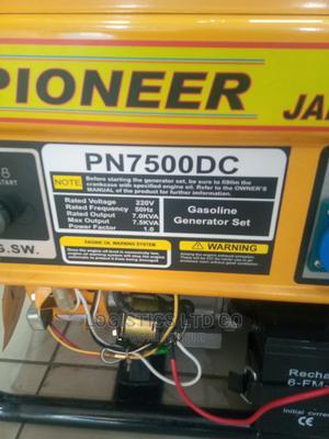 Pioneer Petrol Generator Japan 7.5kva 10hp   Electrical Equipment for sale in Nairobi, Nairobi Central