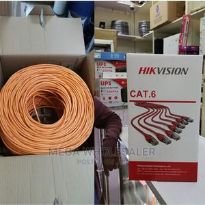 Hikvision Cat6 Utp Cable 100% Copper   Accessories & Supplies for Electronics for sale in Nairobi, Nairobi Central