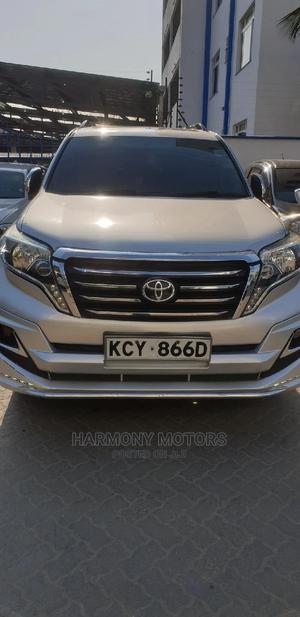 Toyota Land Cruiser Prado 2012 3.0 TD Silver | Cars for sale in Mombasa, Mombasa CBD