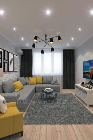 """6 Seaters L Sectional Sofa With a 10"""" High Density Cushion 