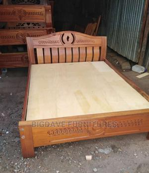 4fts by 6fts Mahogany Beds | Furniture for sale in Nairobi, Industrial Area Nairobi