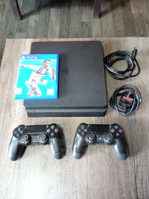 Playstation 4 With 2 Controllers + FIFA 19   Video Game Consoles for sale in Nairobi, Nairobi Central