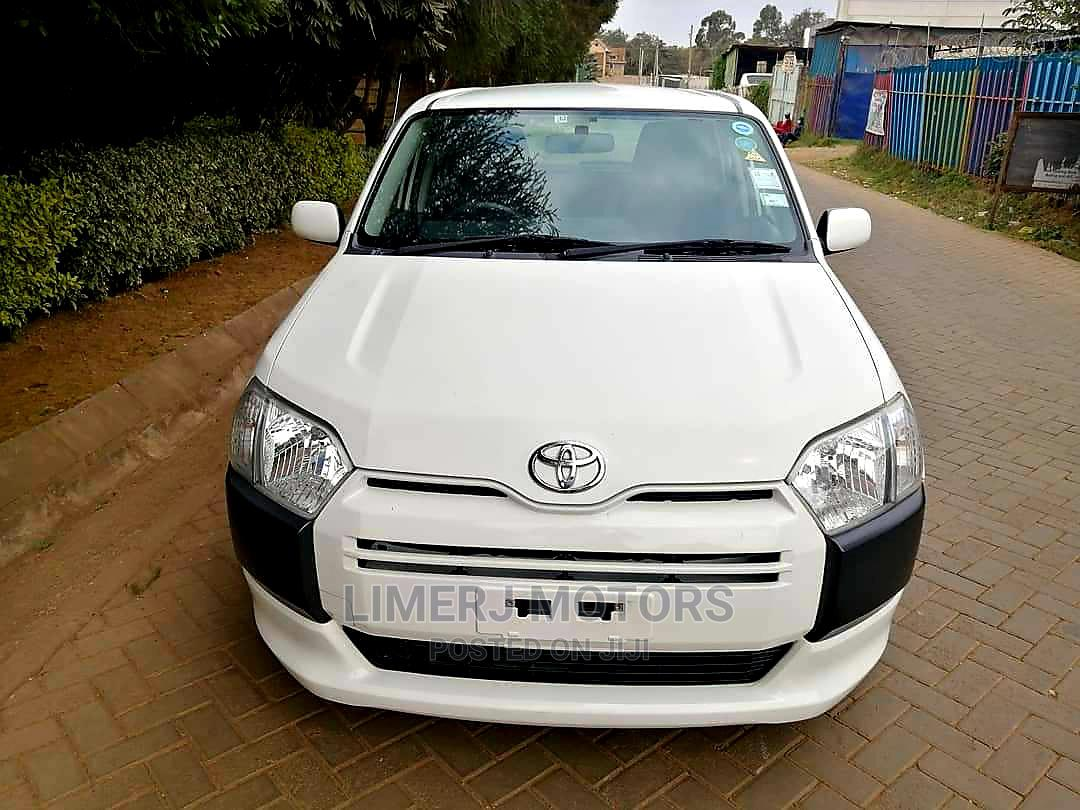 Toyota Succeed 2015 White