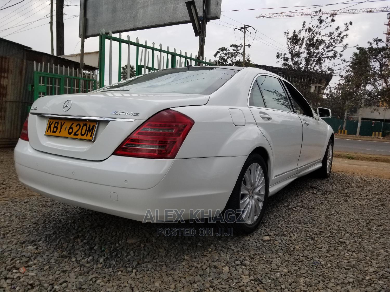 Mercedes-Benz S-Class 2006 S 350 (W221) White   Cars for sale in Langata, Nairobi, Kenya