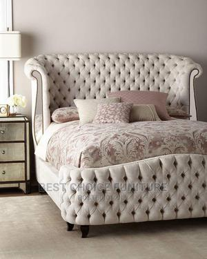 6*6 Antiques Accent Bed Contemporary Design Luxury Bed   Furniture for sale in Nairobi, Kahawa