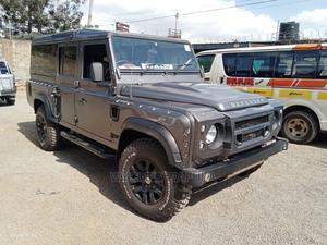 Land Rover Defender 2012 Puma 110 2.4 TD Gray   Cars for sale in Nairobi, Nairobi Central