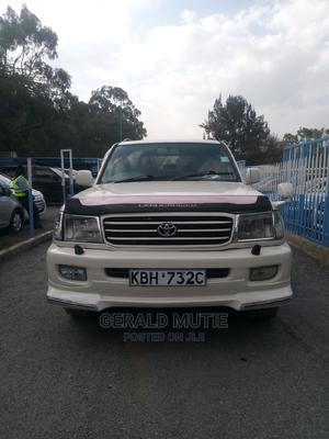 Toyota Land Cruiser Prado 2002 White   Cars for sale in Nairobi, Nairobi Central