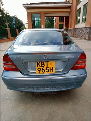 Mercedes-Benz C200 2005 Blue | Cars for sale in Nairobi, Karen