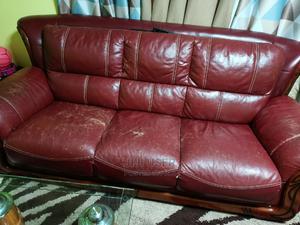 7 Seater Leather Sofa | Furniture for sale in Nairobi, Kasarani