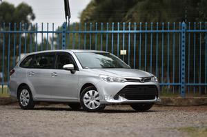 Toyota Corolla Fielder 2016 Silver   Cars for sale in Nairobi, Kilimani
