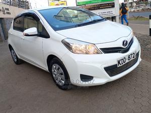 Toyota Vitz 2014 1.3 AWD 3dr White   Cars for sale in Nairobi, Nairobi Central