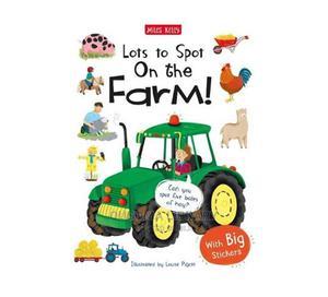 Lots to Spot Sticker Book: On the Farm! - Johnson | Books & Games for sale in Kajiado, Kitengela