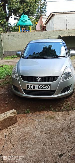Suzuki Swift 2012 1.4 Silver   Cars for sale in Nairobi, Nairobi Central