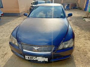 Toyota Mark X 2005 2.5 RWD Blue | Cars for sale in Nairobi, Woodley/Kenyatta Golf Course