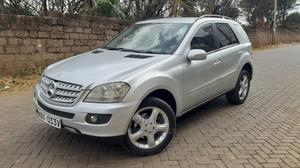 Mercedes-Benz M Class 2008 Silver   Cars for sale in Nairobi, Kilimani