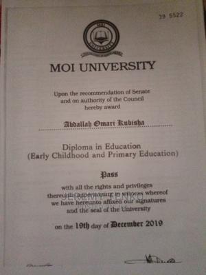 Teacher Primary   Teaching CVs for sale in Kwale, Ukunda