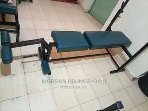 Workout Bench With Leg Extension | Sports Equipment for sale in Kiambu, Ruiru