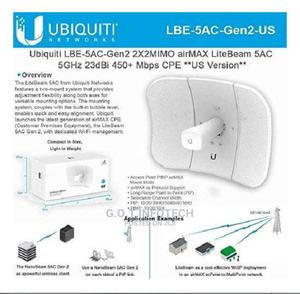 Ubiquiti Lite Beam M5 Antenna   Networking Products for sale in Nairobi, Nairobi Central