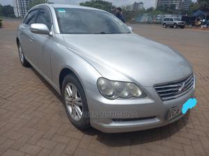 Toyota Mark X 2008 2.5 RWD Silver   Cars for sale in Nairobi, Runda
