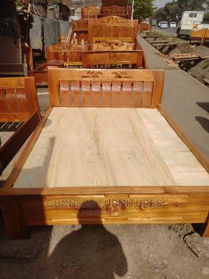 Mahogany Beds 5*6 Feets.   Furniture for sale in Nairobi, Nairobi Central