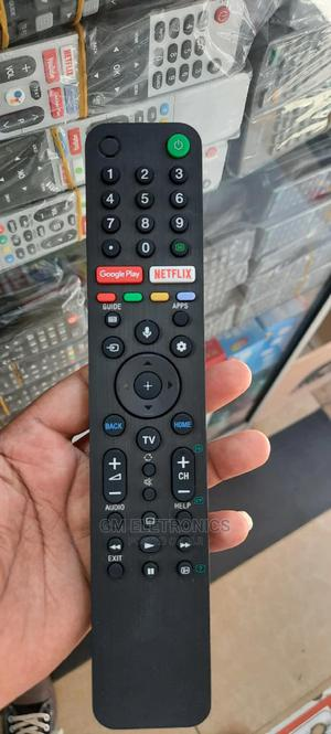 Sony Smart Android TV Remote With Voice Command.   Accessories & Supplies for Electronics for sale in Nairobi, Nairobi Central