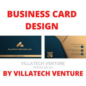 Business Card Design   Photography & Video Services for sale in Nairobi, Karen