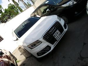 Audi Q5 2014 White | Cars for sale in Mombasa, Tudor