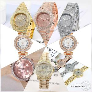 *Unisex Quality Hip Hop Iced Watches * Assortment: Fitting .   Watches for sale in Nairobi, Nairobi Central
