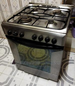 Electric Cooker Oven With 4 Gas Burners Stainless Steel Top | Kitchen Appliances for sale in Mombasa, Mombasa CBD