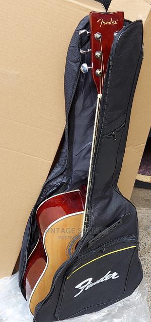 Original Fender Semi Acoustic Guitar and Padded Guitar Bag | Musical Instruments & Gear for sale in Nairobi, Nairobi Central