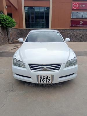 Toyota Mark X 2008 White   Cars for sale in Nairobi, Karen