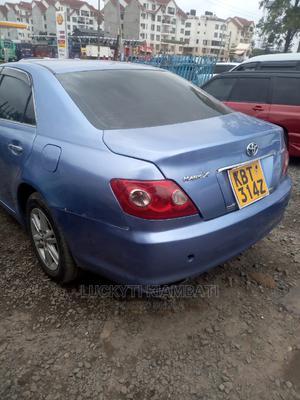Toyota Mark X 2007 Blue   Cars for sale in Nairobi, Embakasi