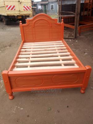 4 by 6 Hardwood Bed | Furniture for sale in Kiambu, Banana