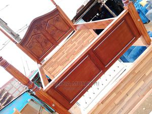 4*6 Hardwood Bed | Furniture for sale in Nairobi, Roysambu