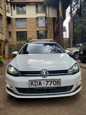 Volkswagen Golf 2013 White   Cars for sale in Nairobi, Kilimani