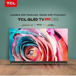 TCL 55 Inch Qled Android TV Frameless (C815) | TV & DVD Equipment for sale in Nairobi, Nairobi Central