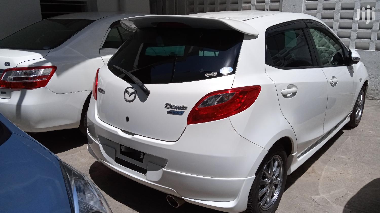 Mazda Demio 2013 White