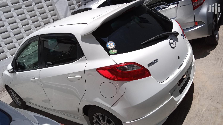 Mazda Demio 2013 White   Cars for sale in Tudor, Mombasa, Kenya