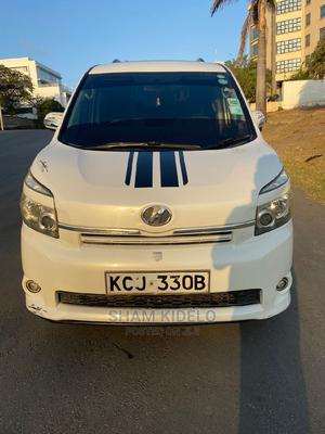 Toyota Voxy 2009 White   Cars for sale in Mombasa, Ganjoni