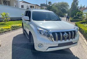 Toyota Land Cruiser Prado 2014 White   Cars for sale in Mombasa, Tudor