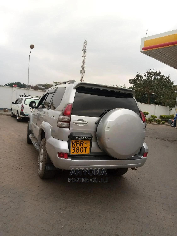 Toyota Land Cruiser Prado 2005 Silver   Cars for sale in Nairobi Central, Nairobi, Kenya