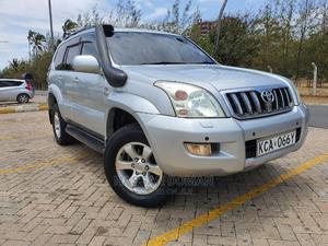 Toyota Land Cruiser Prado 2007 Silver | Cars for sale in Mombasa, Ganjoni