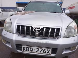 Toyota Land Cruiser Prado 2008 3.0 D-4d 5dr Silver   Cars for sale in Nairobi, Nairobi Central