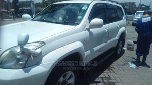 Toyota Land Cruiser Prado 2003 3.4 5dr White   Cars for sale in Nairobi, Kileleshwa