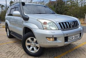 Toyota Land Cruiser Prado 2007 Silver | Cars for sale in Mombasa, Tudor