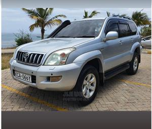 Toyota Land Cruiser Prado 2007 Silver | Cars for sale in Mombasa, Mombasa CBD