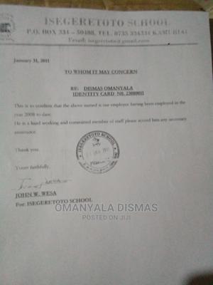 Sales & Telemarketing CV | Sales & Telemarketing CVs for sale in Busia, Malaba Central